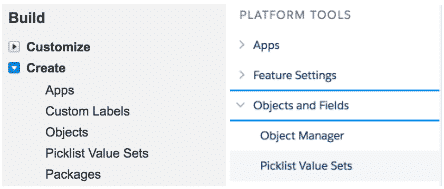 Global Picklist: Define Globally and use them locally