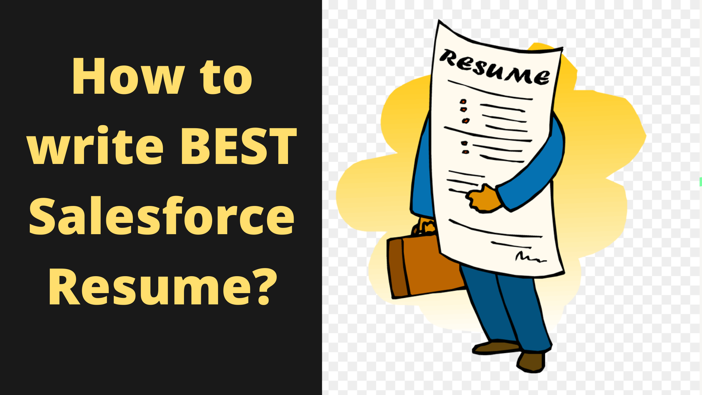 Salesforce Resume Tips